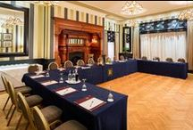 Conferences at Rowton Hall / Check out our fantastic conference facilities here at Rowton Hall. With 4 different spaces to choose from, and a wide range of offers, Rowton is the perfect venue for your next meeting.