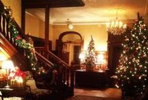 Christmas Time at Rowton Hall / Rowton Hall has a homely feel, and at Christmas this does not change. Come and spend your festive period with us and eat, drink and sleep in luxury.
