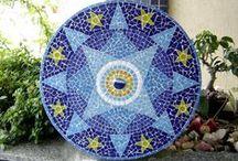 Mosaicos Meus / Trabalhos de Mosaicos
