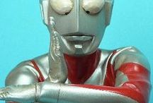 Ultraman and Japanese Monsters / Various images from our beloved childhood afternoon tv show and a few other images of people in hysterically creative monster suits.