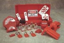 Lockout Tagouts / It's a safety procedure that is being used for various industries to keep dangerous machines from causing damage by not being shut off prior to operation the next day. At Safety Company we offer lockout tagout kits as well as tags and lockout tagouts seperately... (Learn more: http://www.safetycompany.com/categories/facility-maintenance/lockout-tagout/)