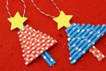 CHRISTMAS / Cute idea for #crafts, #easy #diy, # handmade #ornaments and #decoration.