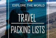✈Travel Packing Lists & Tips / Before embarking on the next adventure, the most stressful part is waiting for you: packing your bags. To make life easier and to save time, I created this collection of the best Travel Packing Lists & Packing Tips! Please feel free to add your best content to this board || See More on: www.back-packer.org/?s=PACKING+LIST