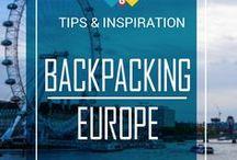 ✈Backpacking Europe Tips / www.back-packer.org/backpacking-europe