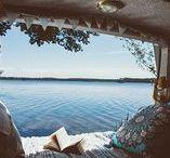 Van Life / Campervan conversion ideas & bike touring ideas