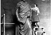 American women sculptors
