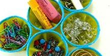 Recycle-upcycle plastic / Plastic can be used in many funny and useful ways. Here some ideas to recycle plastic boxes, bags, bottles. Crafts, diys and ideas for inspiration