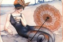 "Landlocked Mermaid / ""I must be a mermaid, Rango. I have no fear of depths and a great fear of shallow living.""  ~ Anaïs Nin"