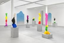 sculpture installation textiles / paintings, sculpture, textiles, patterns / by Falon Land Studio