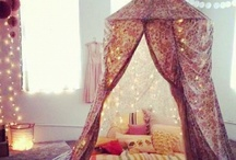 tent. fort. hideaway / by Between the Sheets