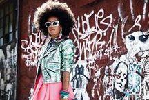 I ♥ Solange / Solange Knowles. Fashion icon. Hair crush. Fabulosity.