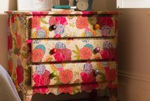 Painted & Papered Dressers / by Talia Adomo
