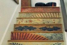 Painted stairs / by Talia Adomo