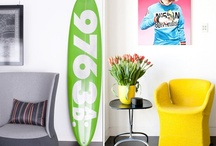 Surfboards on Display / by Talia Adomo