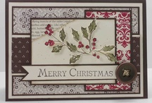 Stampin' Up! Cards - Christmas / Christmas cards I would like to make. / by Kim Miller