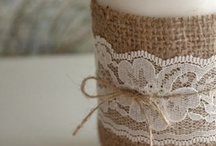 lace and burlap wedding <3 / by Stephanie Adams