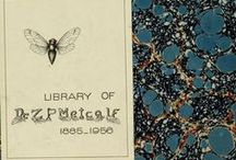 End Papers & Book Plates