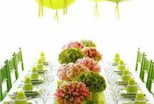 Wedding Mood Board - Light Green Colour Theme Inspiration / Light Green Colour Theme Inspiration for your wedding.