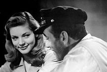 Humphrey Bogart & Lauren Bacall / by Pere Oliva i Adroher