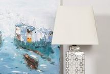 Elegant Lighting / Gentle lighting ideas and statement lamps with an Oriental flair.