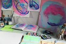 studio spaces / by Falon Land Studio
