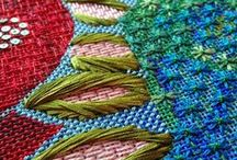 Needlework: Canvas / Apart from yoga, meditation, reading, it has to be one of the most serene things to do (don't lose your needles though, that can create a severe lack of serenity).  ~Carole Berman and Jennifer Lazarus, about needlepoint