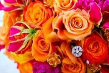 Pink and Orange Inspiration / All things pink & orange.  These colors inspire me and make me happy!