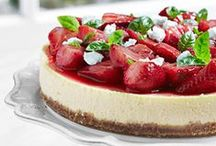 Delicious Desserts / Joan of Arc® cheeses are perfect to use in desserts! Goat cheese makes great frosting and cheesecakes. If you are making a fruit dessert, Brie cheese is the obvious choice!