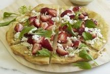 Perfect Pizzas & Tarts / From flaky crusts to fresh, colorful vegetables to decadent cheese toppings, these pizza and tart recipes are sure to please! / by Joan of Arc Cheeses