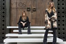 Twinfashion X YFOS || FW 13|14 Campaign / Fashion, style, air and attitude! Nef & Nat, a.k.a. the #Twinfashion Duo have it all! In one word they have Yfos!
