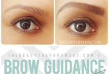 Beautiful Brows / How to have fabulous brows.