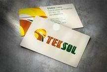 Tarjetas de Visita / Diseñamos tarjetas de visita que se adaptan perfectamente a tu oficio y personalidad.