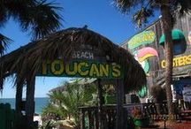 The Toucan's Lifestyle / Enjoy the Mexico Beach area with a wonderful time shared at Toucans. Fresh Seafood and beautiful sunsets. Friendly staff and great way to share with the family and kids.