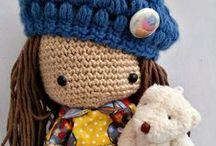 crochet  palillo y lana