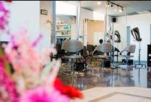 Salon Interior Design / Take a look of some of the beautiful interiors of our salon partners. ♥