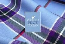 The World Peace Tartan / The World Peace tartan in 2011 to convey a message of peace while generating revenues to fund the work of a charitable foundation through the licensing of its brand, design and products. As it grows, the World Peace Tartan Foundation will invest in education initiatives intended to build a culture of peace and address child poverty.The tartan was launched on June 22, 2012 when the first ever World Peace Tartan scarf was presented to the Dalai Lama during a visit to Edinburgh.