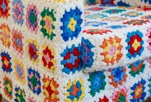 Crochet & Tricot / Não sei fazer crochê, mas gosto muito desse colorido todo.