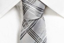 Ties / The modern necktie can be traced back to the seventeenth century to the time of the Thirty Years' War when Croatian mercenaries, in the service of the French, wore traditional small, knotted neckerchiefs.