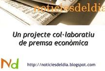 Noticiesdeldia - Economia / Vídeos creats al projecte Noticiesdeldia-Economia a http://noticiesdeldia.blogspot.com i d'altres interessants per a l'aprenentatge de l'Economia
