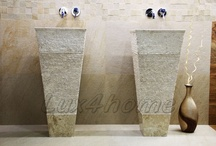 Stone Sinks / Natural Stone Sinks / Stone Washbasins made by Lux4home™.