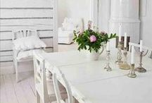 Cottage Homes / Everything beautiful for the home - white, pastel, shabby