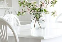 Cottage Decor / Colser Look - Everything beautiful for the home - white, pastel, shabby