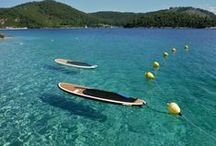 Sporardes SUP / Sporades Stand up paddle boarding Welcome!  Sporades SUP is based in Glossa on the Skopelos Island in the Sporades, Greece.  Sporades Sup is proud to be the first Stand up paddle board out fit on Skopelos, offering lessons, rentals and tours.  Stand up paddle boarding is a great way to explore this area, the coast line of these islands with their sheltered bays, beaches caves and nooks and crannies are ideal for beginners as well as the more experienced.