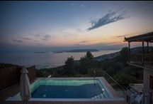 Villa Eleonorae, with private pool and enchanting sea views, Glossa, Skopelos, Greece. / Villa Eleonora, its secluded location is private, despite its proximity to the beaches, the port, the Mamma Mia church and the village itself. Sleeps 4/5. It is not overlooked by anything but the beautiful birds and wildlife. It is a truly unforgettable experience.  To see more: http://www.ownersdirect.co.uk/greece/gr1075.htm