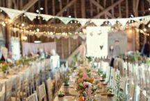 Barn Dreams / One day I want my own barn to throw cozy parties in!
