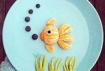 Funny food / Idées pour présentations gourmandes pour mes petits-enfants