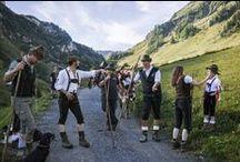 Tyrolean dress (traditional austrian clothing) - Dirndl, Lederhosen und Tiroler Tracht / It's all about Dirndl and Lederhosen, the traditional austrian clothing, which illustrates Tyrol's and Austria's history through fashion. - Traditionelle österreichische Trachten und Tiroler Dirndl.