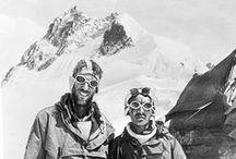 Adventure Men / Climbers, vintage climbing, explorers