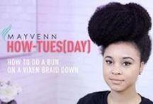 Mayvenn Hair Tutorials / Tutorials and tips on how to style and maintain your Mayvenn hair.
