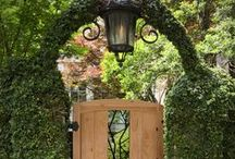 Garden Gates / Decorative and Privacy Gates for your garden, yard or utility storage.